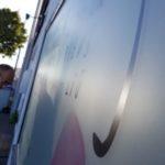 adhésif dépoli imprimé vitrine Vendée 85